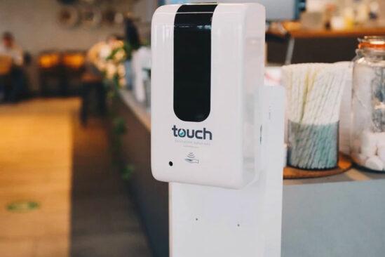 Touch Free Hand Sanitiser Dispenser